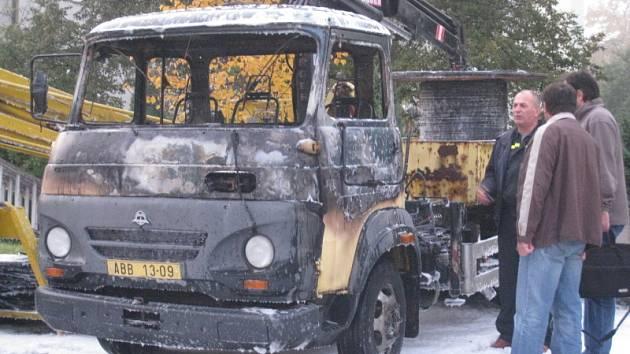 Benešov, požár Jiráskova ulice