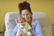 Helena a Martin Mádlíkovi ze Svojetic jsou od 7. dubna šťastnými rodiči prvorozeného Mikuláše. Ten se narodil v11:08 sváhou 3600 g.