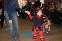Dětský maškarní ples je ve Vranově už tradice.