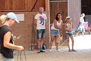 Otevřený šampionát minikoní v Opřeticích.