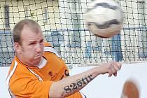 Benešovský Miroslav Stupka si konečně splnil svůj sen a nastoupil v nejvyšší soutěži.