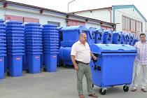 Technické služby Týnec by rády nakoupily nová auta a kontejnery.