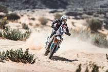 Libor Podmol zajel ve čtvrté etapě Dakaru své dosavadní maximum.