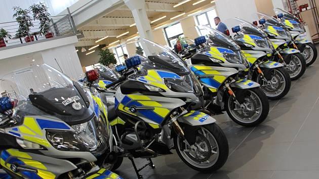 Nové motocykly BMW