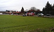 Nehoda na E55, k níž došlo v pátek 21.prosince.
