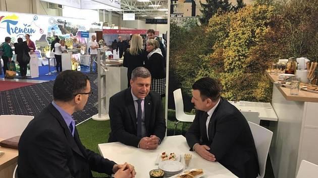 Středočeský krajský Radní Martin Draxler jednal v rámci veletrhu cestovního ruchu ITF Slovakiatour Bratislava 2019 o spolupráci s Bratislavským samosprávným krajem.