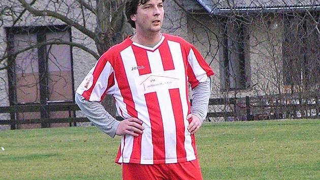 Miroslav Hanuš z Chotýšan je nejlepším střelcem okresního přeboru.