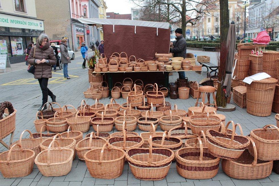 Velikonoční jarmárek v Benešově.