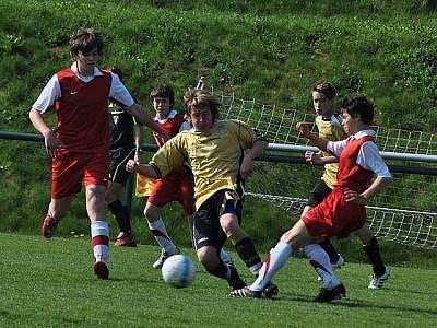 Kluci z dětského domova Sázava a Pyšely postupují do finále turnaje o pohár české fotbalové reprezentace.