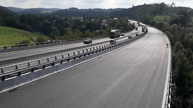 Modernizace dálnice D1.