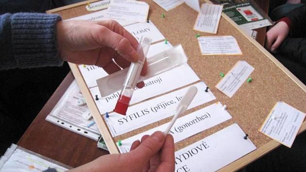 Ilustrační foto: V K–centru se drogově závislí mohou nechat otestovat, aby zjistili, zda nejsou HIV pozitivní