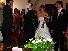 Svatba Lucie Kopecké z Benešova a Jana Mikuláška z Vrchotových Janovic