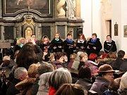 Koncert v kostele sv. Anny.