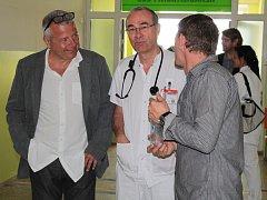 Slavnostní otevírání multioborové JIP a oddělení následné rehabilitační péče v Nemocnici Rudolfa a Stefanie Benešov.