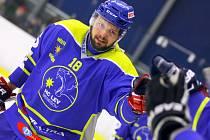 Michal Holeš se stal z brankáře útočníkem a dokonce v základní části letošního ročníku Krajské ligy vyhrál střelce.