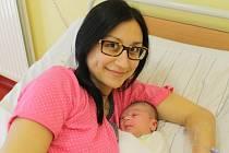Malý Sebastián se narodil 22. září ve 4.27. Sestřičky v porodnici mu navážily 3,20 kilogramu a naměřily 49 centimetrů. Z prvorozeného syna se radují rodiče Radka a Luboš Kopeckých z Benešova.