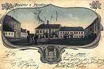 Pohlednici Neveklova vydalo na začátku 20. století místní Nakladatelství Josef Šťastný.