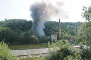 Požár haly v brodecké Jawě už byl během čtyř měsíců třetí v pořadí.