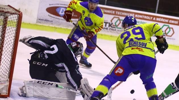 Krajská liga, 11. kolo: Benešov - Ml. Boleslav B