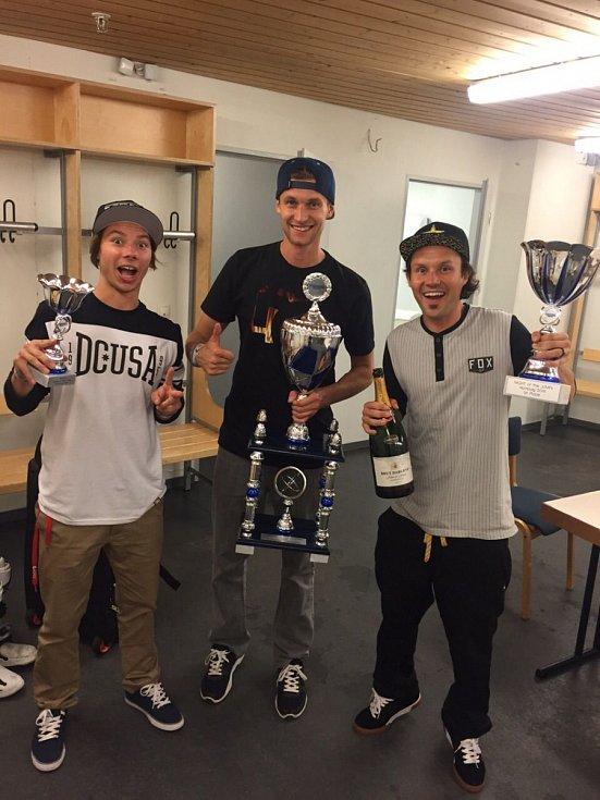 Závody Mistrovství Evropy ve freestyle motokrosu v něměckém Hamburku.