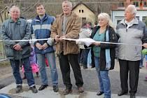 Znovuotevírání mostu mezi Čtyřkoly a Lštěním.