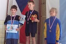TOMÁŠ LUDVÍK (vlevo) obsadil druhé místo.