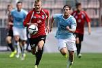 Fotbal FNL, Vyšehrad - Vlašim 2:1.