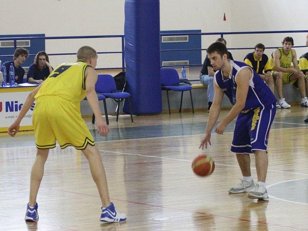 Ze zápasu BC Benešov.