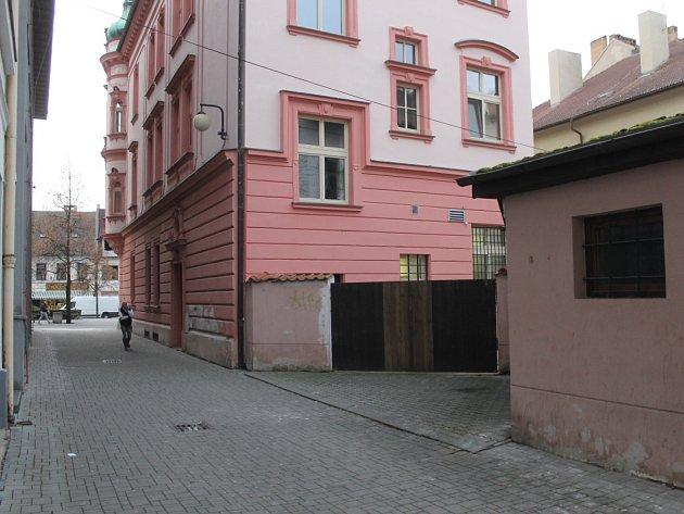 Řeznická ulice v Benešově.