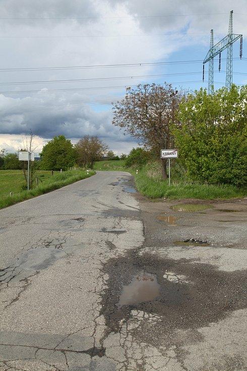 Silnice a doprava v oblasti obce Krňany.
