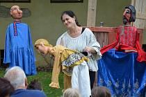 V rámci letošního Pohádkového léta ve Vlašimi přijelo i divadlo Studna.