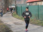 Běh na Čerčanský Chlum 2016 - rozcvičení.