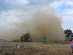 Požár lesa zaměstnal hasiče u Václavic.