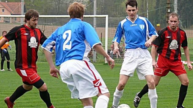 V Nespekách se diváci gólů nedočkali.