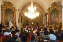 Koncert v Postupicích.