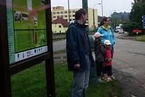Otevření naučné stezky v Týnci nad Sázavou.