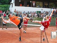 Na mezinárodním turnaji Šacung Cup není nouze o urputné souboje.