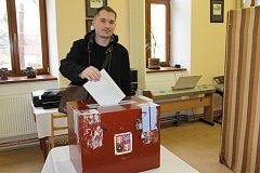 Druhý den druhého kola prezidentských voleb v Kondraci.