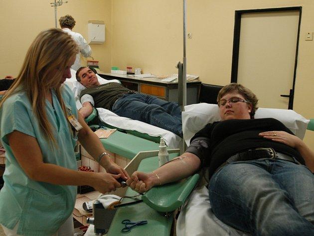 Benešovská transfuzní a hematologická stanice zásobuje krví i okolní nemocnice.