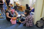 Maminky v benešovském centru relaxovaly.
