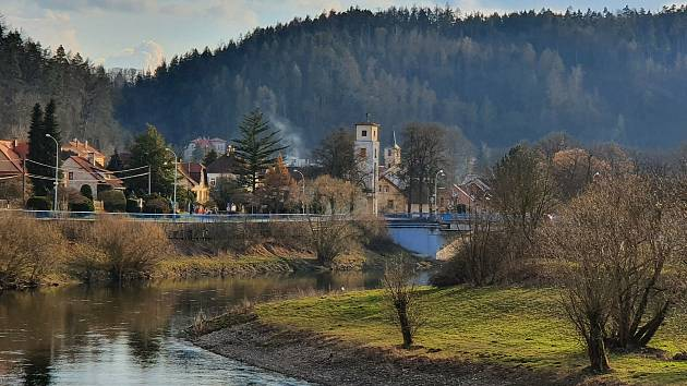 Sázavský klášter objektivem Bohuslava Vtípila.