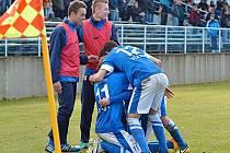 Vlašimští fotbalisté se dvakrát radovali z gólu, což jim stačilo k výhře nad Vltavínem.
