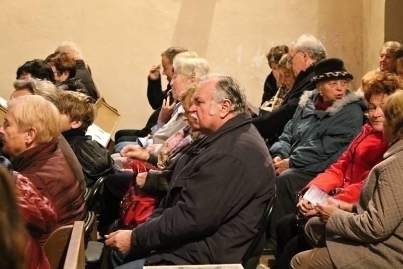 Varhanní koncert ve Vysokém Újezdu.