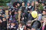 Tradice čarodějnic se v Benešově chopily děti z Mateřské školy v Táborské ulici.