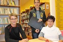 """Detektivní vánoční povídku """"Heween"""" chystá představit čtenářům student vlašimského gymnázia David Veselý (uprostřed) v adventním čase."""