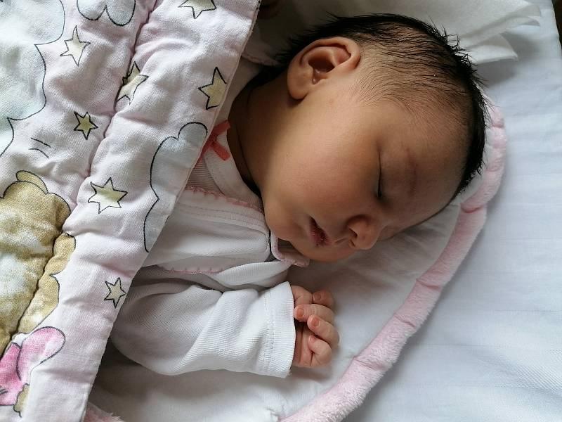 Viktorie Becherová se narodila 18. července ve Strakonicích. Vážila 3100 g a měřila 50 cm. Doma ve Svučicích ji přivítají maminka Martina, tatínek Tomáš a bráška Matýsek.