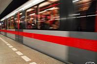 Pražské metro. Ilustrační foto.