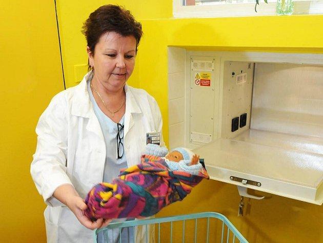 """Ilustrační foto: """"Babyboxy pomohly v České republice zachránit už dvacet dětí,"""" říká Ludvík Hess, předseda sdružení"""
