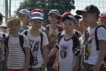 Dětský den nejmenší oslavili ve fotbalovém areálu