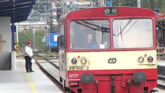 Cestující našli svůj vlak